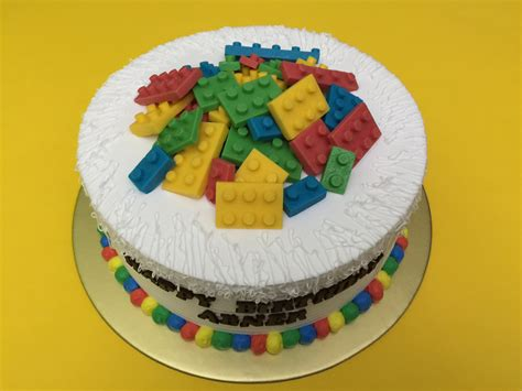 For Baby Shower Message by Lego Cakes Singapore Favourite Toy Ever On A Cake