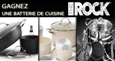 batterie de cuisine cuisinox une batterie de cuisine the rock céramique de 599