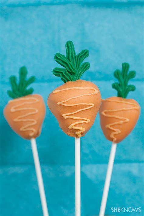 carrot overload cake pops