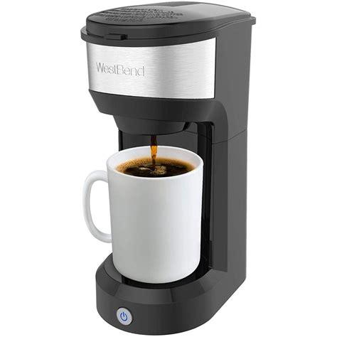 Handheld portable coffee espresso maker. West Bend 56901TL Single Serve Coffee Maker, Black - Walmart.com - Walmart.com