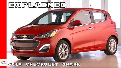 2019 Chevrolet Spark Youtube