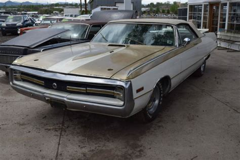 1970 Chrysler 300 Convertible For Sale by 1970 Chrysler 300 Convertible Hurst Package Upgrade For