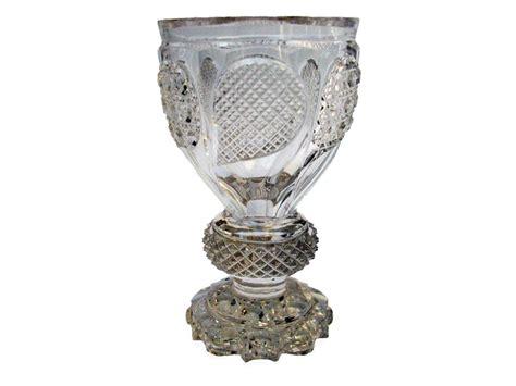 Bicchieri Cristallo by Bicchiere In Cristallo Molato Con Motivi Geometrici