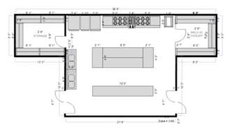 kitchen floor plans free kitchen planning software easily plan kitchen designs and layouts free trial