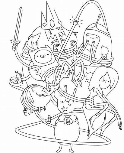 Adventure Coloring Pages Printable Cartoon Colouring Funny