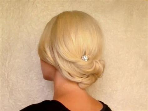 Updo Hairstyles For Hair Tutorial by Updo Hairstyle For Medium Shoulder Length Hair