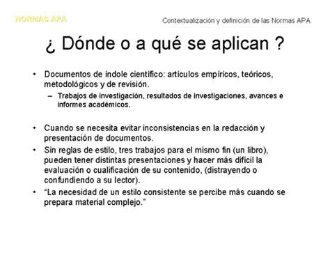 Normas Apa 2014 Para Resumen by Blogfolio Juan Fernando Normas