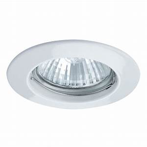 Paulmann premium gu mm white recessed ceiling light