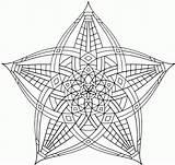 Coloring Geometric Pages Mandala Animal Hard Flower Print Simple Complex Printable Sheets Geometry Fun Adult Abstract Mandalas Popular Rgk Coloringhome sketch template