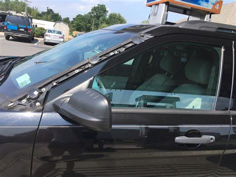 ford explorer windshield trim flies   complaints