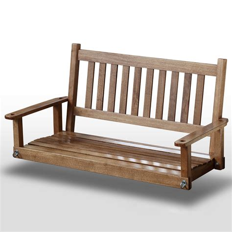 hinkle chair company home depot plantation 50 slatted porch swing maple stain dcg stores