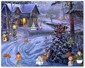 Christmas Scenes Screensavers