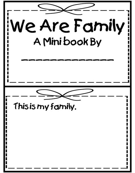 grade wow me and my family print outs 929 | ead10780f13a80a135e8a7f316570b98 kindergarten family unit my family preschool theme activities