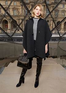 Lea Seydoux Louis Vuitton Boots Wheretoget