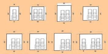 Photo Of Dimensions For A Two Car Garage Ideas by Garage Design Ideas Door Placement And Common Dimensions