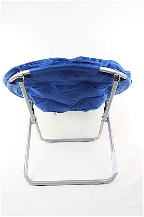 folding saucer chair microsuede folding saucer chair foldable chairs