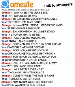 Pokemon Theme Song Convo