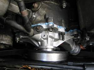 Installing A New Water Pump On A  U0026 39 95 Ford Taurus