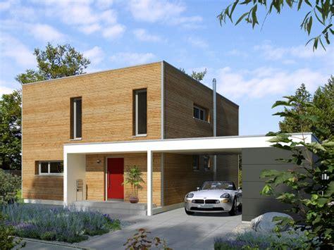 Einfache Moderne Häuser by Modernes Fertighaus Baufritz Haus Bauhaus
