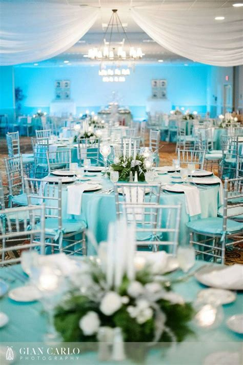 41 Brilliant Blue And White Winter Wedding Ideas Andres