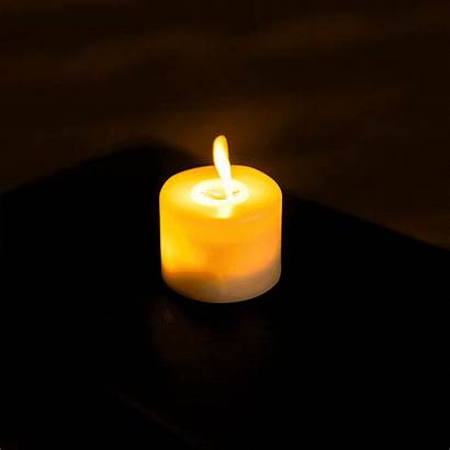 Flickering Candles Flame Led Battery Tealight Luxe