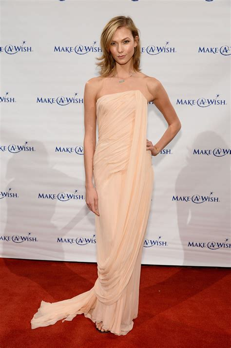 Karlie Kloss Evening Wishes Gala New York