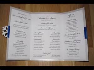 diy wedding ceremony program fans diy wedding programs wedding programs as fans diy