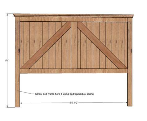 queen headboard wood woodworking projects plans