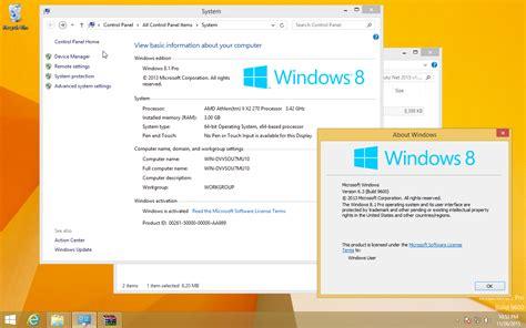 windows 8 1 pro 9600 activation of windows 8 1