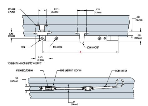 telescoping push bar hardware wood awning casement bronze pushbar truth window hardware