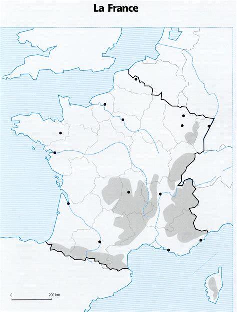 Carte Des Reliefs De à Compléter by Carte De Vierge 224 Compl 233 Ter Ce2 My