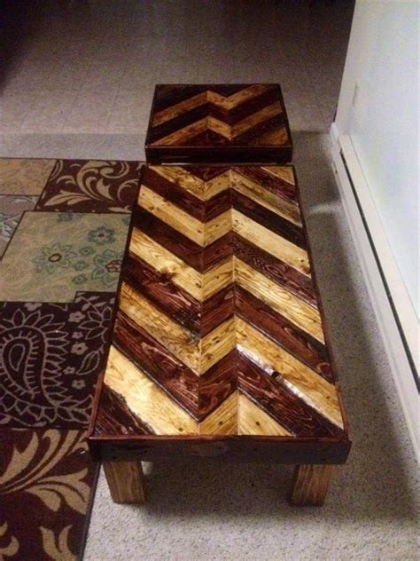 There are 692 pallet coffee table for sale on etsy, and they cost 213,49 $ on average. DIY Pallet Coffee Table - End Table | Pallet Furniture Plans