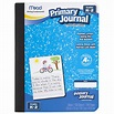 Mead Primary Journal, Half Page Ruled, Grades K-2, 100 ...