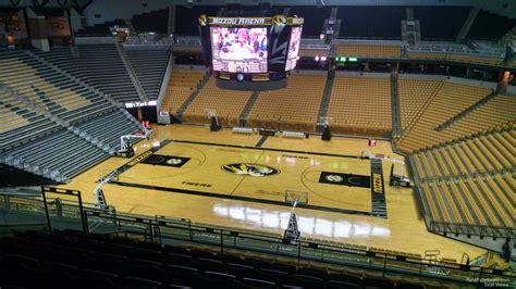 Mizzou Arena Section 207 - RateYourSeats.com