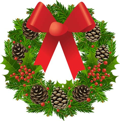 christmas wreath decoration png   icons
