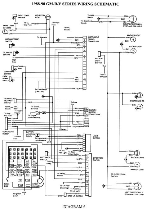 1993 Chevy Light Wiring Diagram by Electrical Diagrams Chevy Only Page 2 Projects To Try