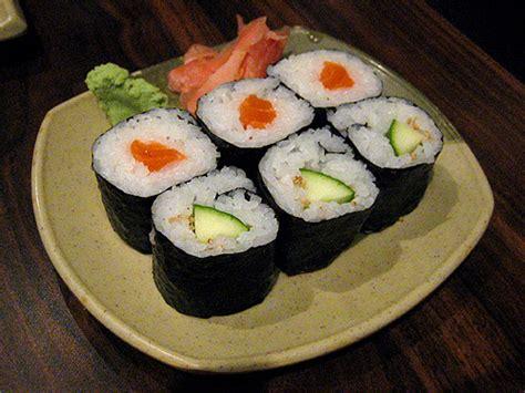 recette de cuisine facile et originale recette sushi maki au concombre recettes asiatiques