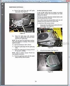 Cub Cadet I1042 I1046 I1050 Ztr Workshop Repair Manual