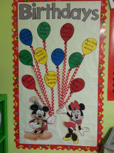 pin  monica flores  love mickey mouse classroom
