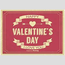 Old Valentine's Day Illustration  Download Free Vector Art, Stock Graphics & Images