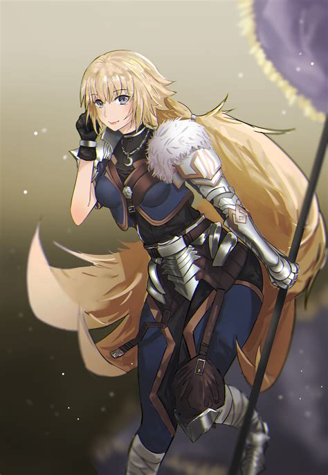 Long Hair Blonde Fate Series Fateapocrypha Anime