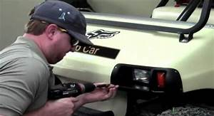 How To Install Club Car Ds Headlight And Tail Light Kit