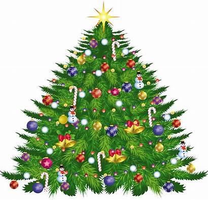 Tree Transparent Clipart Deco Clip Noel Merry