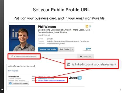 building your linkedin profile