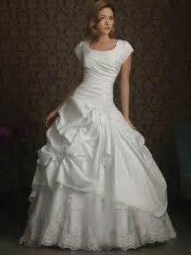 Modest Ball Gown Wedding Dresses with Sleeves