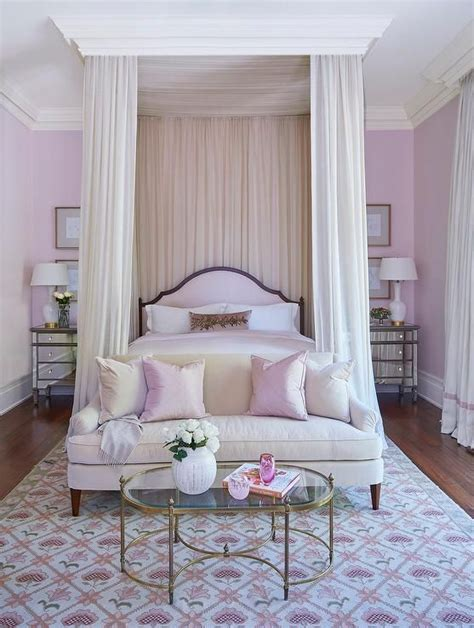 Grown Up Bedroom by Pink Grown Up Bedroom Features A Pink Arch Headboard On