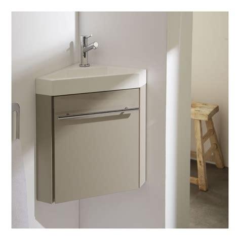 plan de travail cuisine béton ciré meuble lave mains d 39 angle couleur daim pour wc