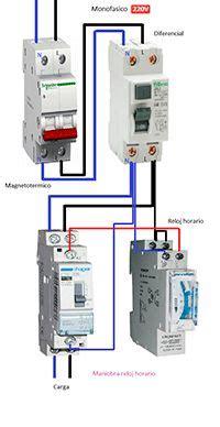 solucionado contactor y relevo termico esquema electrico monofasico electricidad
