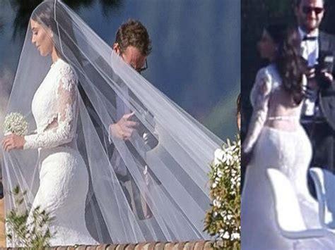 Kim Kardarshian & Kanye West Wedding