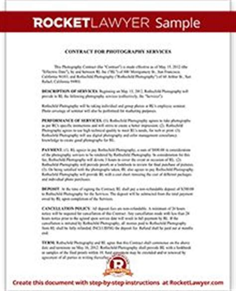 photography contract images photography contract